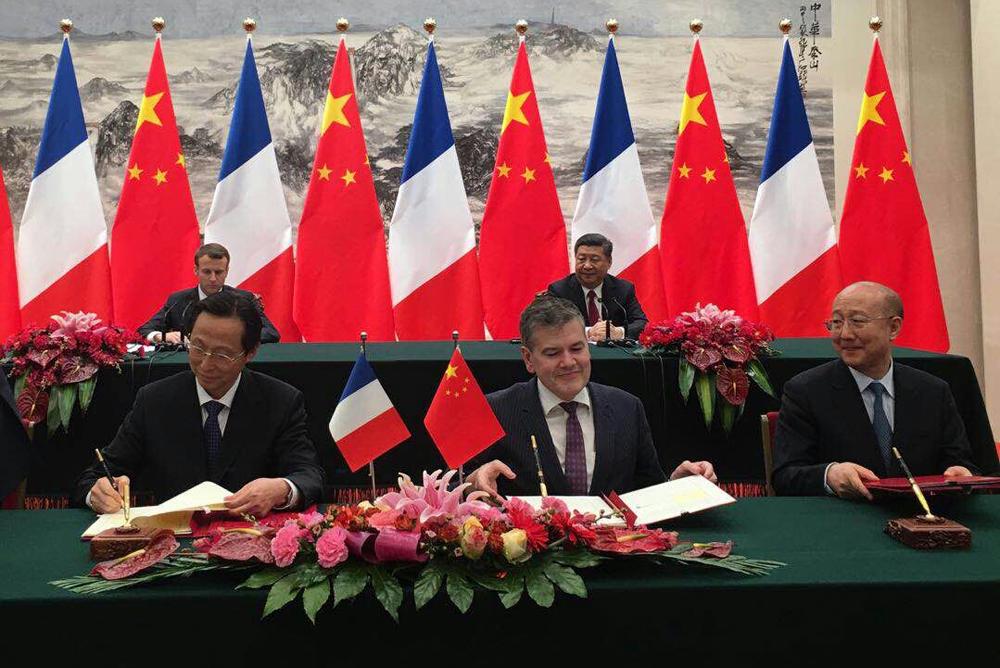Echanges économiques franco-chinois