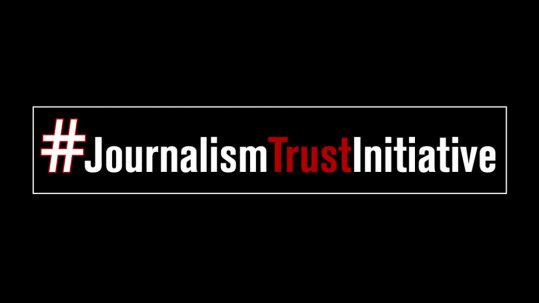 Logo Journalism Trust Initiative