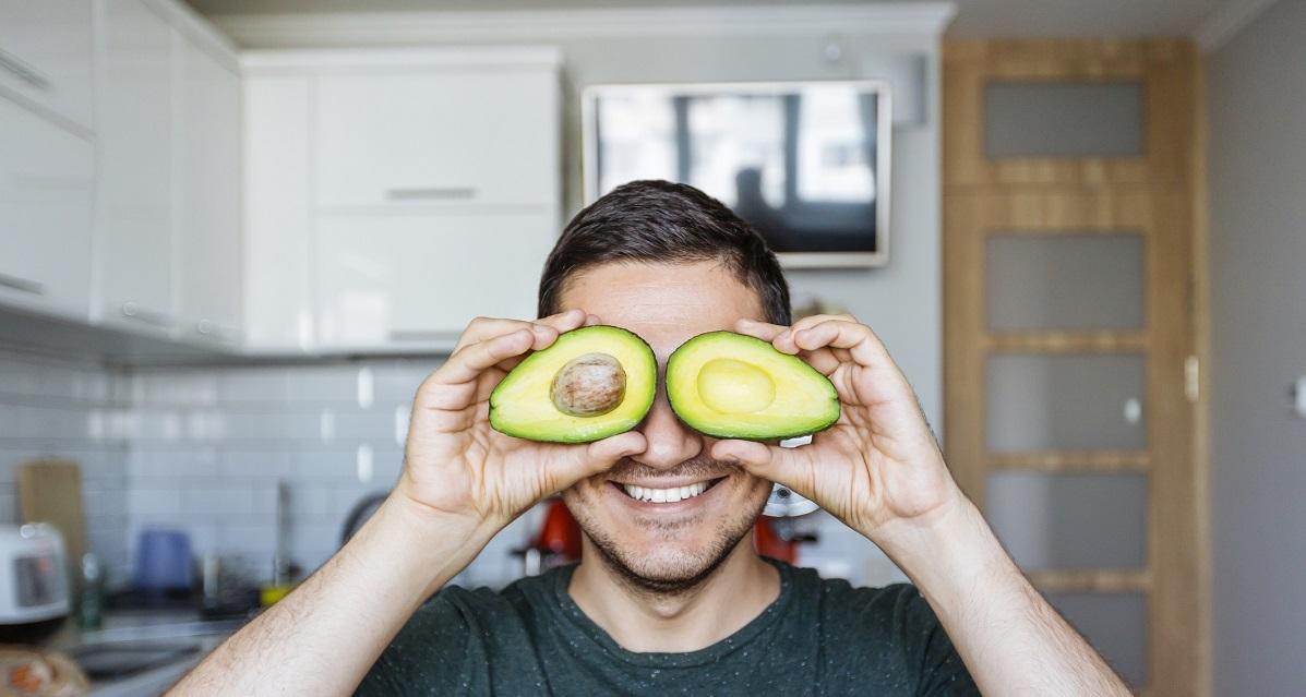 homme avocat vegan