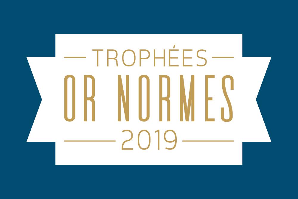 Logo Trophées Or Normes 2019