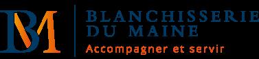 Logo de l'entreprise Blanchisserie du Maine, nominés pour les Trophées Or Normes 2019
